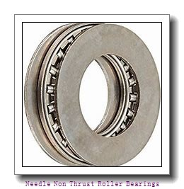 0.787 Inch | 20 Millimeter x 1.024 Inch | 26 Millimeter x 0.472 Inch | 12 Millimeter  CONSOLIDATED BEARING K-20 X 26 X 12  Needle Non Thrust Roller Bearings