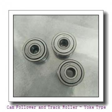 IKO NAST20ZZUU Cam Follower and Track Roller - Yoke Type