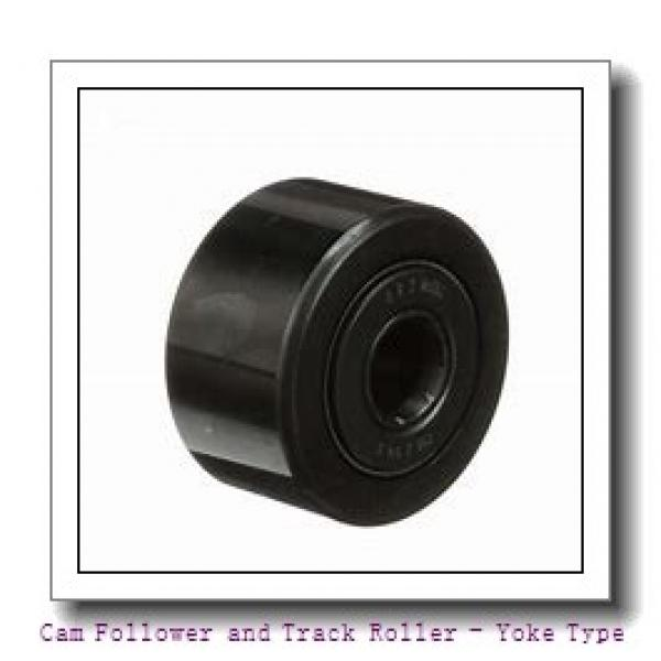 INA NA2205-2RSR  Cam Follower and Track Roller - Yoke Type #1 image