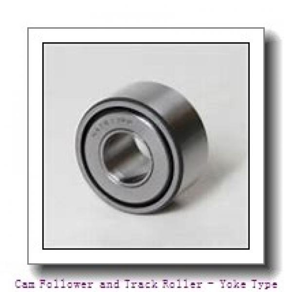 IKO NAST6ZZR  Cam Follower and Track Roller - Yoke Type #2 image