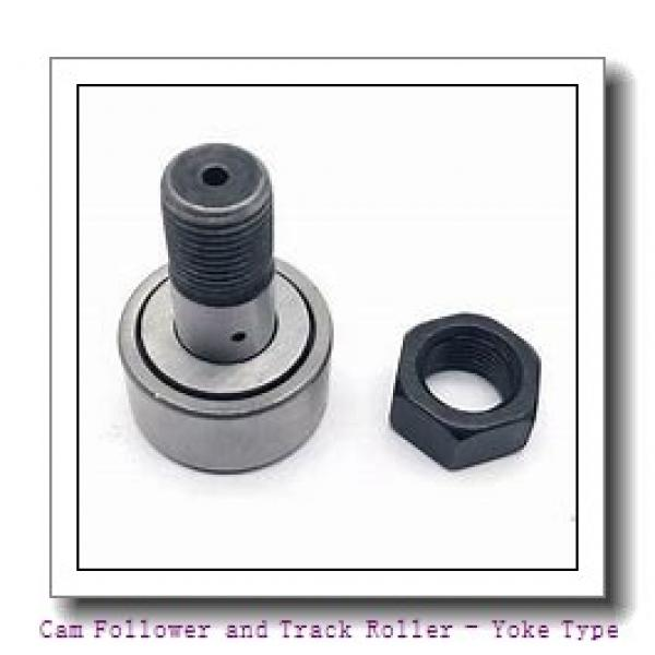 INA NATR6  Cam Follower and Track Roller - Yoke Type #3 image