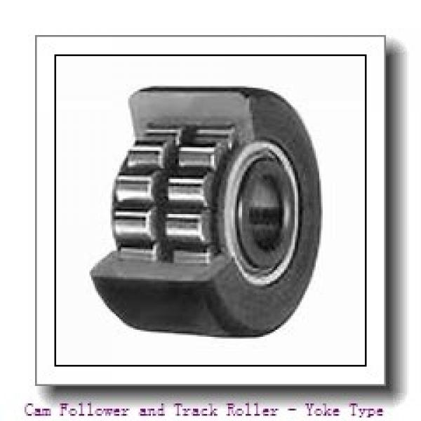 INA NA2205-2RSR  Cam Follower and Track Roller - Yoke Type #3 image