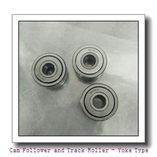 INA NNTR50X130X65-2ZL  Cam Follower and Track Roller - Yoke Type #3 image