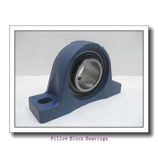2.188 Inch | 55.575 Millimeter x 3.75 Inch | 95.25 Millimeter x 2.5 Inch | 63.5 Millimeter  DODGE P2B-E-203R  Pillow Block Bearings #1 image