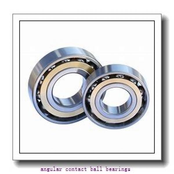 0.984 Inch | 25 Millimeter x 2.047 Inch | 52 Millimeter x 0.811 Inch | 20.6 Millimeter  SKF 5205MZZ  Angular Contact Ball Bearings #1 image