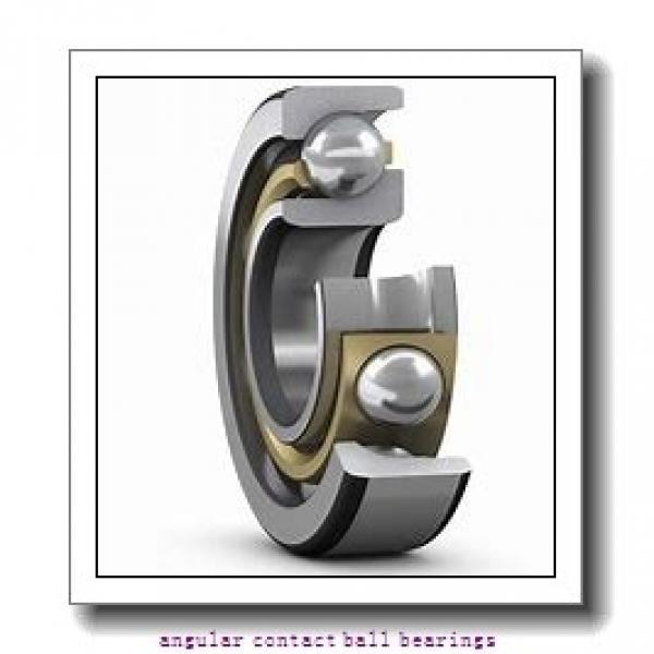 1.181 Inch | 30 Millimeter x 2.441 Inch | 62 Millimeter x 0.937 Inch | 23.8 Millimeter  SKF 5206MZZ  Angular Contact Ball Bearings #1 image